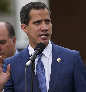Venesuelos opozicijos lyderio J.Guaido patarėjai atsistatydino po nepavykusio reido