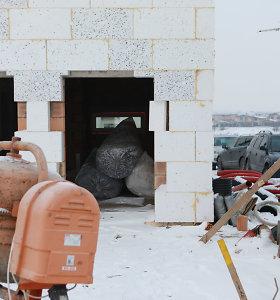 Policija sulaikė du vyrus, įtariamus vagystėmis Kauno rajone iš statomų objektų