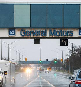 """""""General Motors"""" patraukė į teismą """"Fiat Chrysler"""" už profsąjungos atstovų papirkinėjimą"""