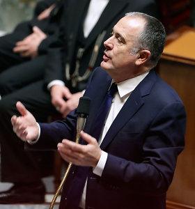 Prancūzijos žemės ūkio ministras išprovokavo ginčą savo pareiškimais apie alkoholį