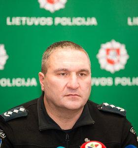Patikrinimą dėl nušalinto Kauno policijos viršininko D.Žukausko planuojama baigti vasarį