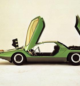"""""""Alfa Romeo Carabo"""" iš naujo išrado automobilines dureles"""