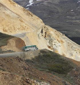 Aliaskos nacionaliniame parke dėl purvo nuošliaužų įstrigo 300 turistų