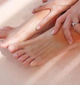 Po keisto pojūčio kojose – gydytojų verdiktas: stubure įsitaisė parazitai