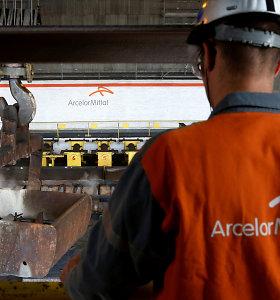 """Nerimaudama dėl paklausos smukimo, """"Eurofer"""" prašo peržiūrėti ES plieno importo kliūtis"""