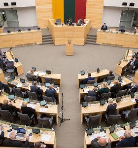 Lietuvos gyventojai nepatenkinti pirmaisiais Seimo darbo metais