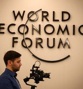 Šiemet Davosas – be D.Trumpo, bet su rusų oligarchais ir įtampa dėl Kinijos