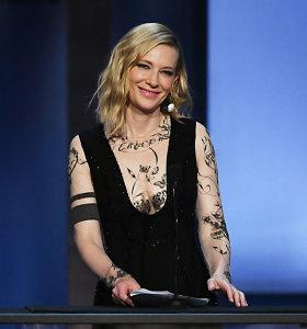 Aktorė Cate Blanchett pirmininkaus Venecijos kino festivalio žiuri