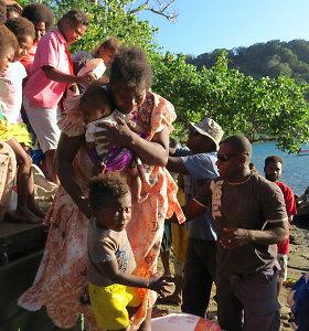 Vanuatu baigė 11 tūkst. žmonių evakuaciją iš ugnikalnio salos