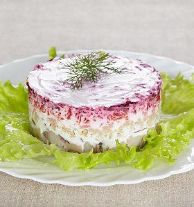 Valgys ir girs visi: 15 tradicinių ir modernių silkės patiekalų šventiniam stalui