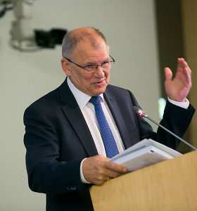 LSDP kandidato į prezidentus varžytuves laimi V.Andriukaitis