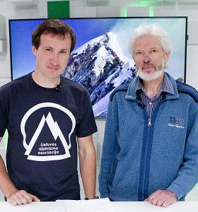 Sausakimšas Everestas: 15min studijoje – kodėl jis dabar ypač pavojingas ir kaip užtikrinti saugumą?