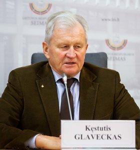 Liberalai į Antikorupcijos komisijos pirmininkus siūlo K.Glavecką