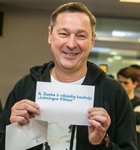 A.Zuokas nori biuletenyje per rinkimus matyti savo vardą – kuria koaliciją iš reikalo