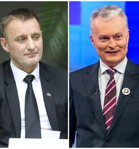 Šiaulių meras antrajame prezidento rinkimų ture palaikys G.Nausėdą: mato jame V.Adamkų
