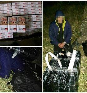 Pasieniečiai sulaikė kontrabanda gabenusius lietuvį ir baltarusį