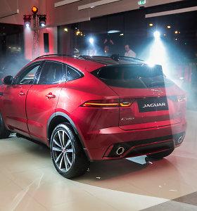 """Paskelbė, kiek Lietuvoje kainuos sportiškas """"Jaguar E-Pace"""""""