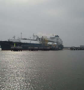 Suskystintų dujų terminalo išlaikymas atpigs 10 mln. eurų