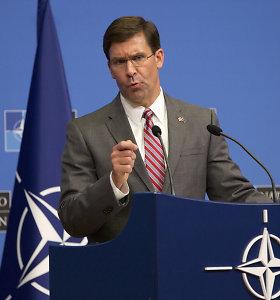 Pentagono vadovas Mongolijoje aptarė karinių ryšių stiprinimo galimybes
