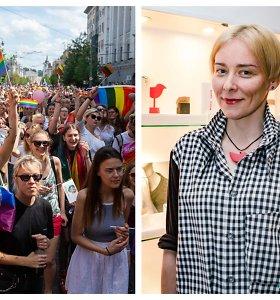 """Jurga Lago pasipiktino LGBT bendruomenei skirta programėle: """"Turime vienytis, o ne skaldytis"""""""