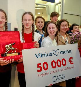 50 tūkst. eurų Venecijos bienalės nugalėtojoms Vilnius skyrė iš vystytojų suneštų pinigų