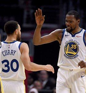 """K.Durantas apie pasitraukimą iš """"Warriors"""": """"Tiesiog nepritapau prie tų vyrukų"""""""