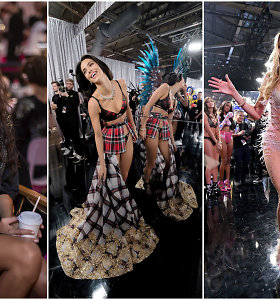 """Intriguojantys """"Victoria's Secret"""" šou užkulisiai: kas liko neparodyta ant podiumo"""
