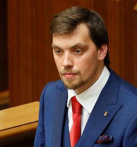 Ukrainos saugumo tarnyba pradėjo tyrimą dėl galimo pasiklausymo premjero kabinete