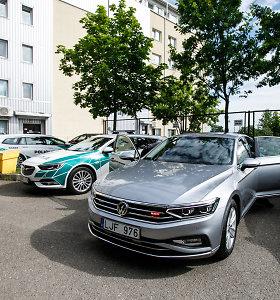 Kauno policija pažeidėjams perduoda linkėjimus – naują nežymėtą automobilį rinkosi ir pagal spalvą