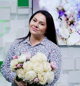 """Floristė I.Borkovska: """"Nemerkite drauge tų gėlių, kurioms reikia mažai vandens ir daug"""""""