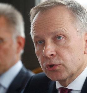 Latvija sako, kad nušalintas centrinio banko vadovas gali pasirinkti, kas jį pakeis ECB taryboje