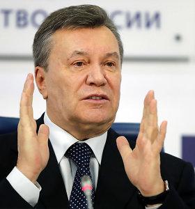 Buvęs Ukrainos prezidentas ViktorasJanukovyčius dėl sunkios traumos atsidūrė ligoninėje