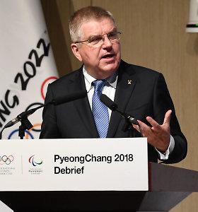 IOC vos neatšaukė Pjongčango olimpinių žaidynių