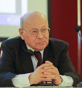 Prof. Krzysztofas Pomianas: dabartiniai skirtumai tarp Europos šalių nėra tokie aštrūs, kad galėtų sukelti rimtą konfliktą, išskyrus Rusijos ir ES santykius