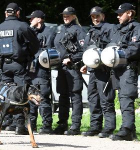 Vakarų Vokietijoje policija surengė didelį reidą prieš irakiečių gaują