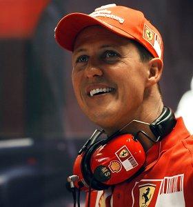 Kas yra žinoma apie Michaelio Schumacherio sveikatą?