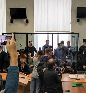 Rusija septyniems jauniems anarchistams skyrė ilgus metus kalėjimo užterorizmą