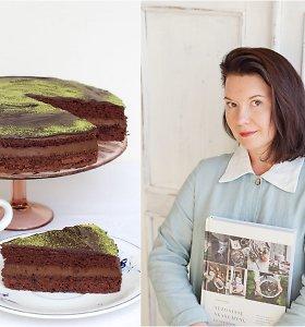 """Renatos Ničajienės """"Sezoninių skanumynų istorijos"""": šokoladinis tortas su avokadais"""