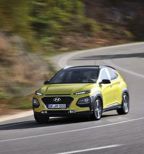 """""""Hyundai"""" miesto visureigis """"Kona"""" – jaunatviškas, spalvingas ir kažkur matytas"""