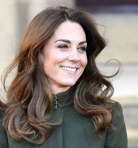 Kembridžo hercogienė Kate Middleton su princu Williamu Bradforde