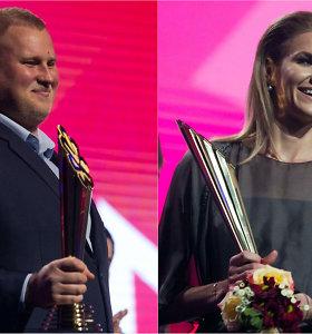 Geriausių šalies sportininkų rinkimuose – A.Gudžiaus ir A.Palšytės triumfas