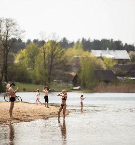 Dėl užterštumo rekomenduoja nesimaudyti Kauno mariose, Salotės ir Balsio ežeruose