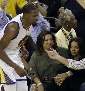 """Kevinas Durantas prarado viltį: """"Rihanna yra tiesiog pakvaišusi dėl LeBrono"""""""