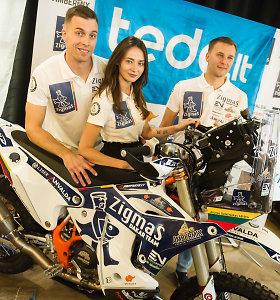 Arūnas Gelažninkas pristatė dvi naujienas: Dakaro motociklą ir iš pagrindų pasikeitusią komandą