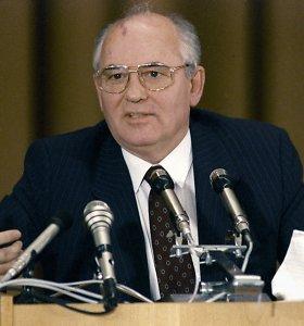 Rusija atmetė teisinės pagalbos prašymą dėl Michailo Gorbačiovo