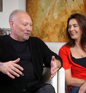 Aleksandro Ivanausko-Faros žmona atskleidė jų 40 metų trunkančios santuokos sėkmės receptą