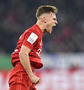 """""""Bayern"""" ir ketvirto diviziono klubas žengė į Vokietijos taurės pusfinalį"""