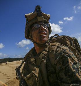 JAV atsiprašė Japonijos už besikartojančius karinius incidentus