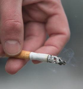 Tabako akcizų pajamos pirmąjį pusmetį išaugo