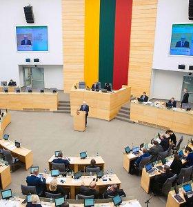 Seimas baigia pavasario sesiją